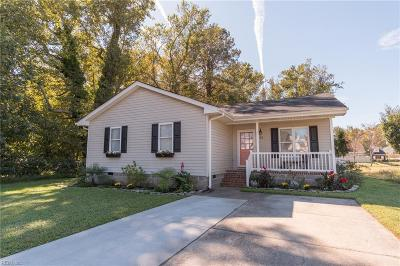 Chesapeake Single Family Home New Listing: 113 Walton Rd