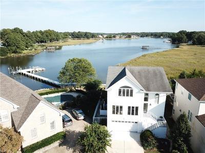 Virginia Beach Single Family Home New Listing: 6309 Jonathans Cove Dr