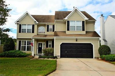 Chesapeake Single Family Home New Listing: 607 Whisper Walk #86