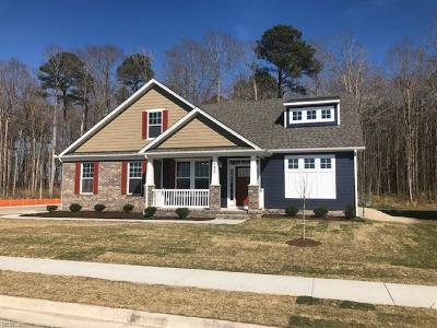 Chesapeake Single Family Home Under Contract: 732 Angelwing Dr