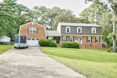 Virginia Beach Single Family Home New Listing: 743 Shepham Ct