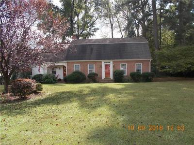 Franklin Single Family Home For Sale: 301 Sycamore Rd