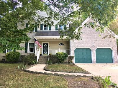 Chesapeake VA Single Family Home Under Contract: $360,000