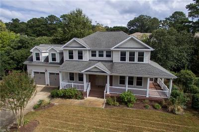 Norfolk Single Family Home New Listing: 400 Shorewood Pl