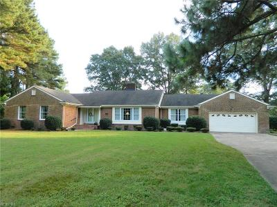 Chesapeake Single Family Home New Listing: 3004 Voyager Ct