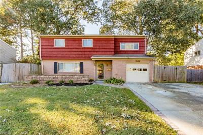 Virginia Beach VA Single Family Home New Listing: $289,900