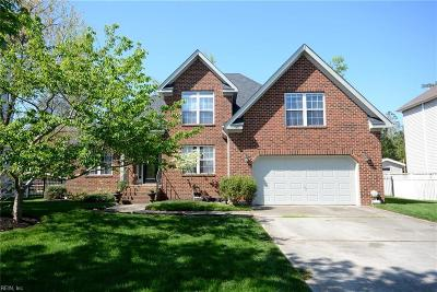 Virginia Beach Single Family Home New Listing: 1917 Winterhaven Dr