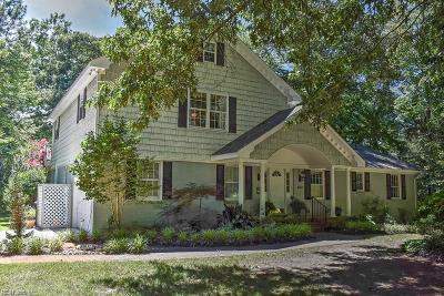 Virginia Beach Single Family Home For Sale: 3737 Lynnfield Dr