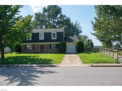 Virginia Beach Single Family Home New Listing: 512 Woodlake Rd