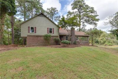 Suffolk Single Family Home New Listing: 1881 Cherry Grove Rd N