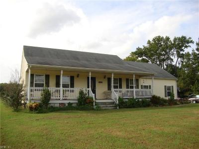 Franklin Single Family Home For Sale: 21094 Harris Rd