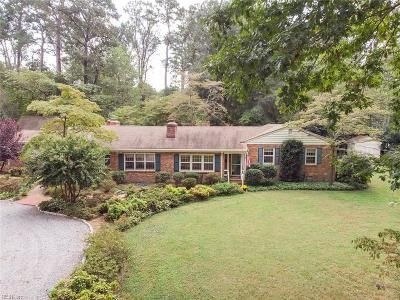 Norfolk Single Family Home New Listing: 1921 Foxhound Ln