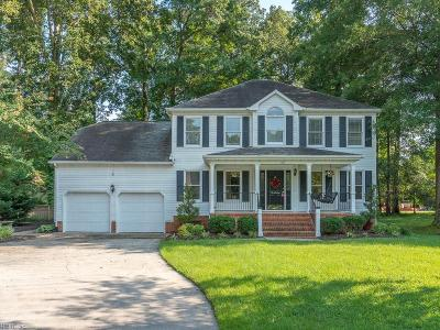 Chesapeake Single Family Home New Listing: 301 Spice Bush Ct