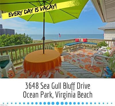 Virginia Beach Single Family Home For Sale: 3648 Sea Gull Bluff Dr