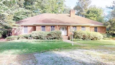 Virginia Beach Single Family Home For Sale: 880 S Spigel Dr