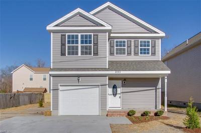 Chesapeake Single Family Home New Listing: 1300 Hoover Ave