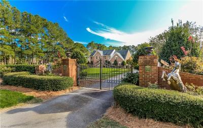 Virginia Beach Single Family Home New Listing: 5732 Aura Dr