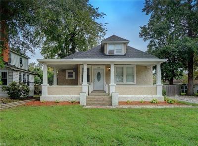 Hampton Single Family Home New Listing: 208 Locust Ave