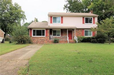 Portsmouth Single Family Home New Listing: 4021 Tarnywood Dr