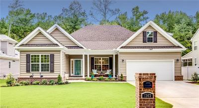 Chesapeake Single Family Home New Listing: 1343 Auburn Hill Dr