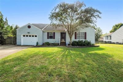 Chesapeake Single Family Home New Listing: 3201 Bent Branch Ct