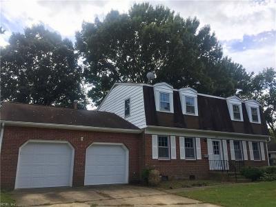 Hampton Single Family Home New Listing: 106 Southerland Dr