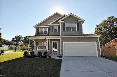 Chesapeake Single Family Home New Listing: 585 River Creek Rd