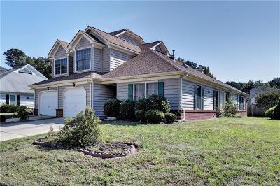 Yorktown Single Family Home New Listing: 113 Songbird Trl
