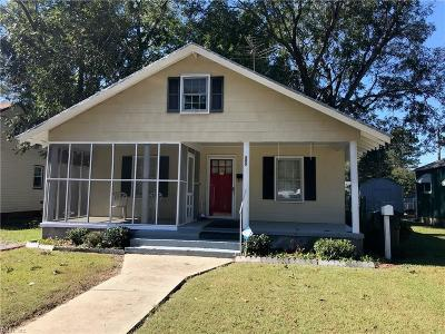 Franklin Single Family Home For Sale: 805 Walnut St