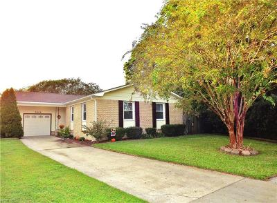 Chesapeake Single Family Home New Listing: 3808 Ludgate Ct