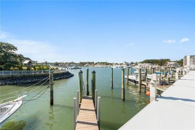 Virginia Beach Single Family Home New Listing: 409 Harbour Pt #101