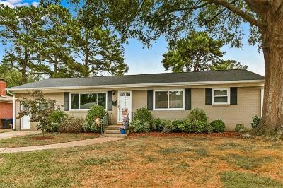 Virginia Beach Single Family Home New Listing: 4733 Holladay Rd