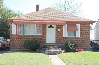 Chesapeake Single Family Home New Listing: 815 Quail Ave