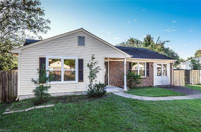 Chesapeake Single Family Home New Listing: 3421 Woodbaugh Dr