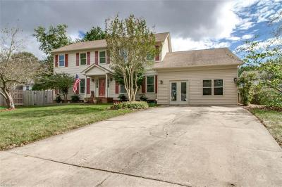 Virginia Beach Single Family Home New Listing: 1521 Narbonne Ct
