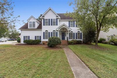Chesapeake Single Family Home New Listing: 2619 Pitchback Ln