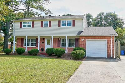 Virginia Beach Single Family Home New Listing: 5401 Susquehanna Dr