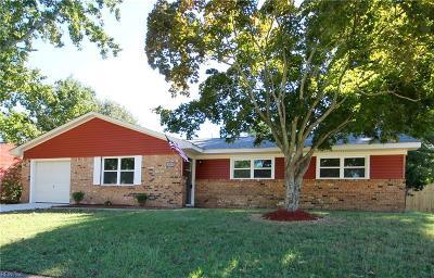 Chesapeake Single Family Home New Listing: 3381 Brandywine Dr