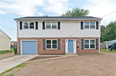 Hampton Single Family Home New Listing: 330 Fort Worth St