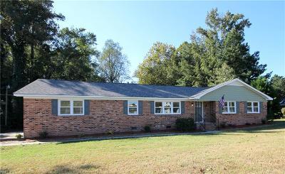 Suffolk Single Family Home New Listing: 1215 White Marsh Rd