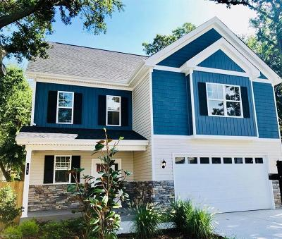 Norfolk Single Family Home New Listing: 264 A View Ave