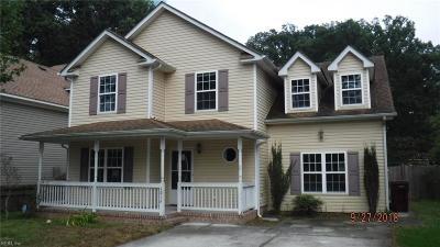 Chesapeake Single Family Home New Listing: 1216 Elder Ave