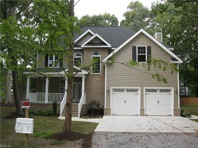 Virginia Beach Single Family Home New Listing: 851 Muth Ln