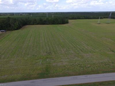 Suffolk Residential Lots & Land For Sale: 5.26ac Old Myrtle Rd