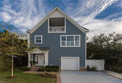 Virginia Beach VA Single Family Home New Listing: $875,000