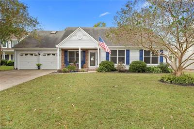 Virginia Beach VA Single Family Home New Listing: $299,900