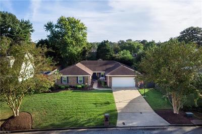 Virginia Beach Single Family Home New Listing: 2113 Claridge Ct
