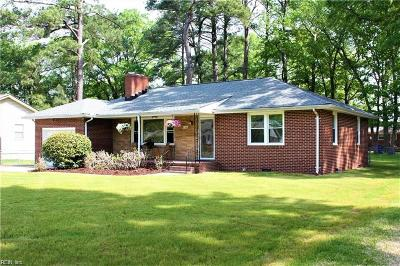 Chesapeake Single Family Home New Listing: 2324 Springdale Rd