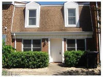 Virginia Beach VA Single Family Home New Listing: $168,000