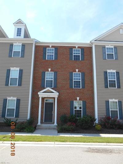 Virginia Beach VA Single Family Home New Listing: $227,500